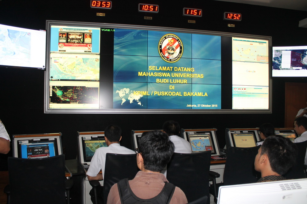 Studi Ekskursi FISIP UBL di Badan Keamanan Laut (Bakamla)