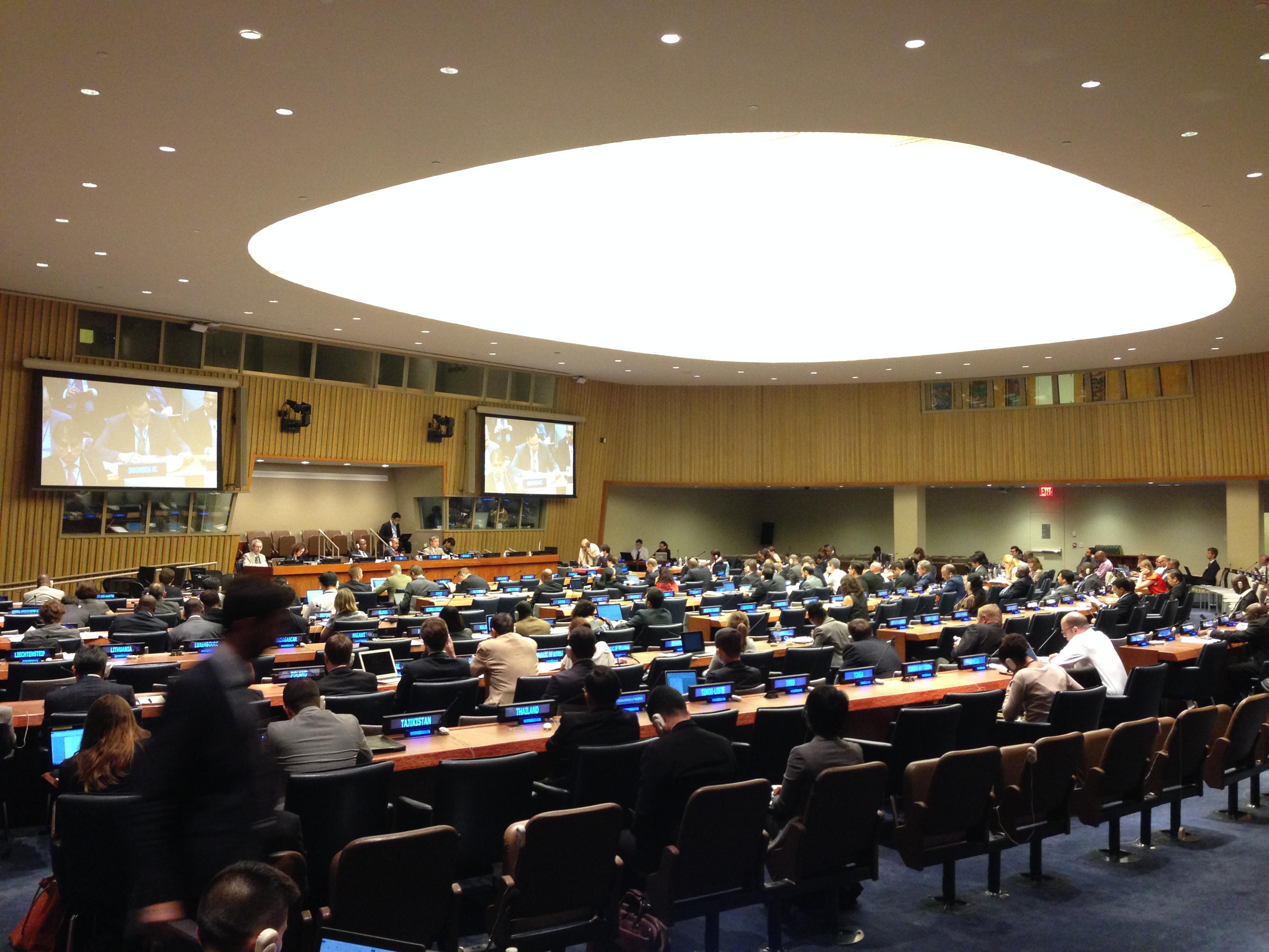 Universitas Budi Luhur menjadi Delegasi Republik Indonesia dalam Persidangan di Markas PBB, New York