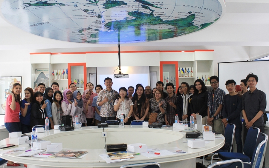 Kuliah Umum Terbatas oleh Taipei Economic and Trade Office (TETO), Indonesia