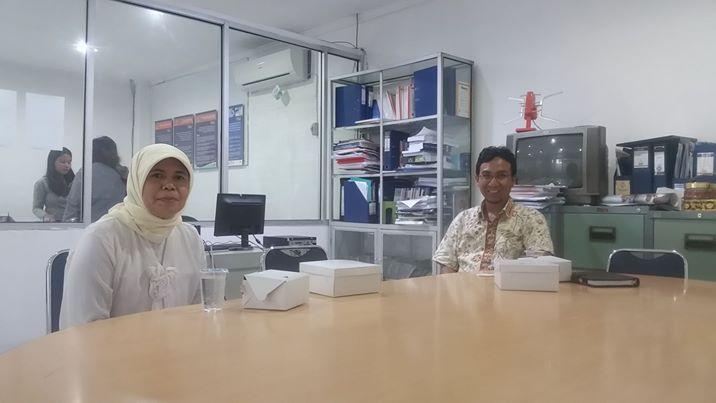 [:en]Kunjungan Marketing Manager Penerbit Buku PT. Raja Grafindo utk Penjajakan Kerjasama Penerbitan Buku[:]