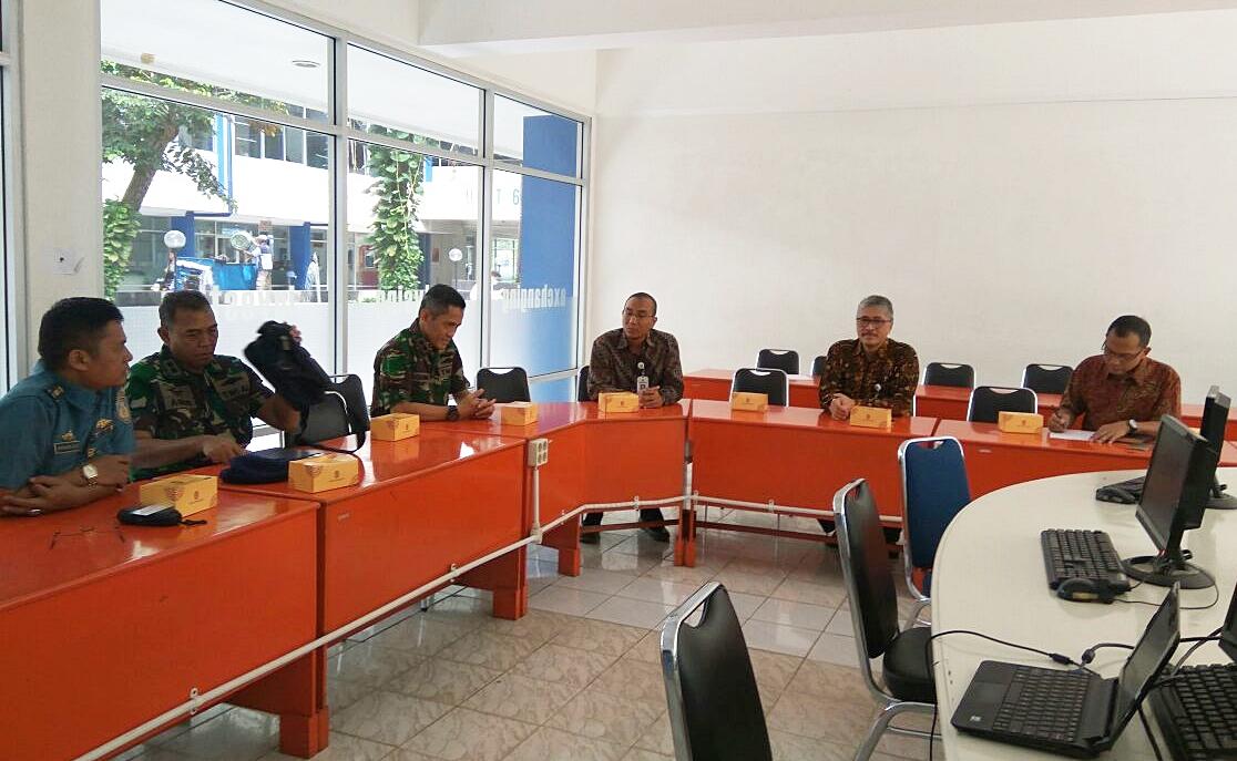 Pertemuan kambali dengan TNI AL, drafting MoU dan PKS (29/11/17)