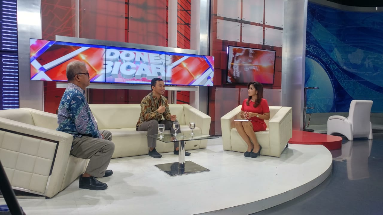 """Dosen Prodi Kriminologi Lucky Nurhadiyanto, M.Si. memberikan Opini terkait Kejahatan Jalanan di MNC New """"Indonesia Bicara"""" dengan tema  """"Hentikan Kejahatan Jalanan"""""""