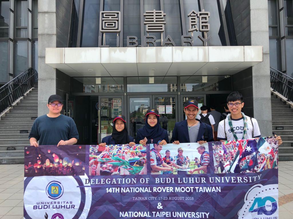 Tiga Mahasiswa Kriminologi Universitas Budi Luhur Melakukan Study Visit ke National Taipei University