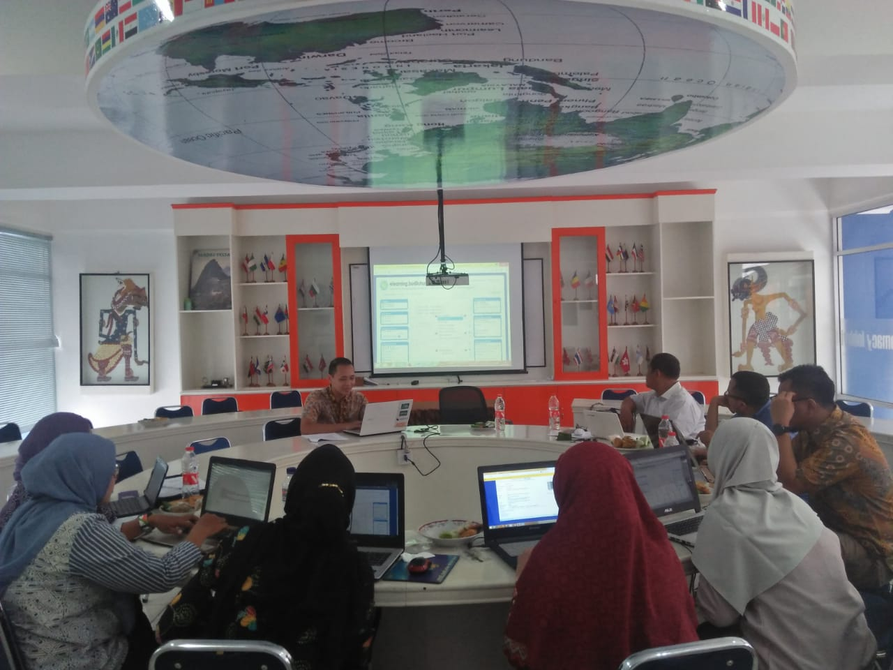 FISIP Mengadakan Kegiatan Workshop E-learning bersama Direktorat Teknologi Informasi (DTI)