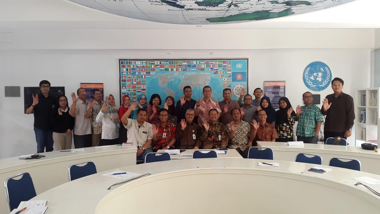 Rapat Koordinasi Jadwal Dosen FISIP Universitas Budi Luhur untuk Periode Perkuliahan Semester Gasal 2018/2019.