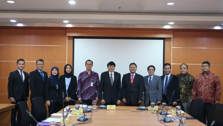 Penandatanganan Kerjasama antara FISIP Universitas Budi Luhur dengan Badan Pengkajian dan Pengembangan Kebijakan (BPPK) Kementerian Luar Negeri
