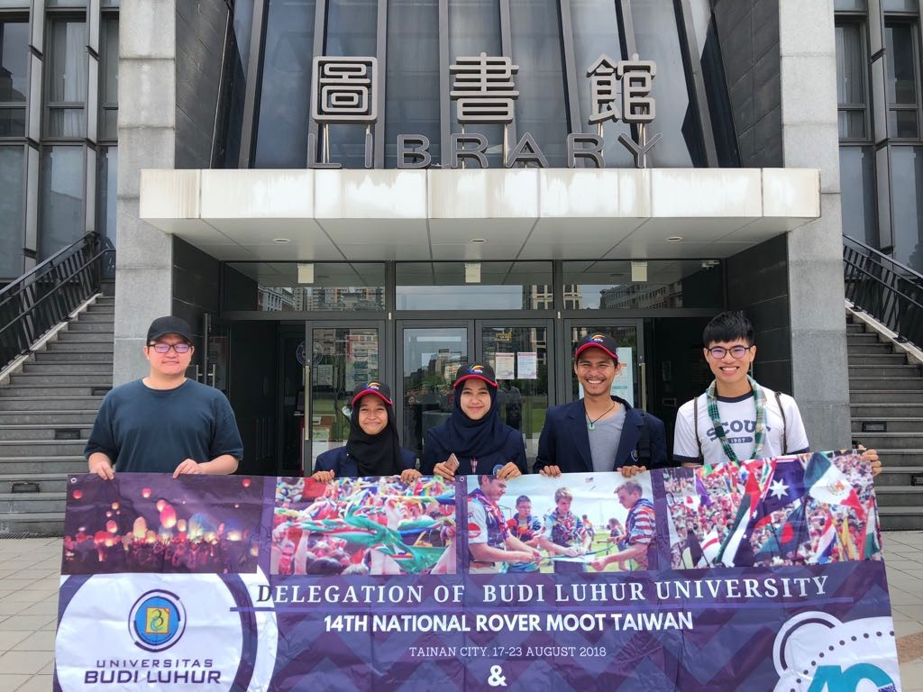 MAHASISWA PRODI KRIMINOLOGI KUNJUNGI  NATIONAL TAIPEI UNIVERSITY, TAIWAN