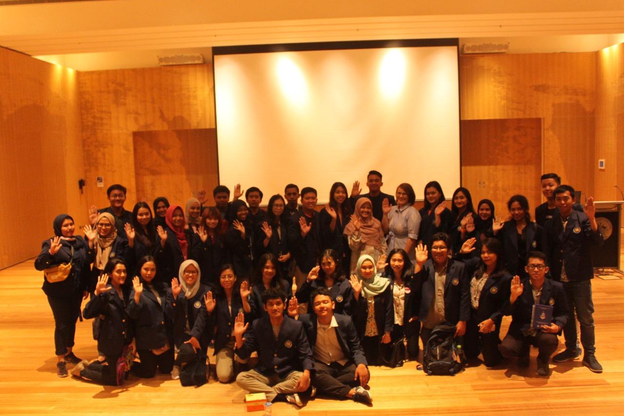 Kunjungan Mahasiswa Prodi Hubungan Internasional  Universitas Budi Luhur ke Kedutaan Besar Australia untuk Indonesia