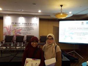 "Dosen Prodi HI Menghadiri Diskusi Publik ""Mainstreaming SDGs into ASEAN Community Vision 2025"""