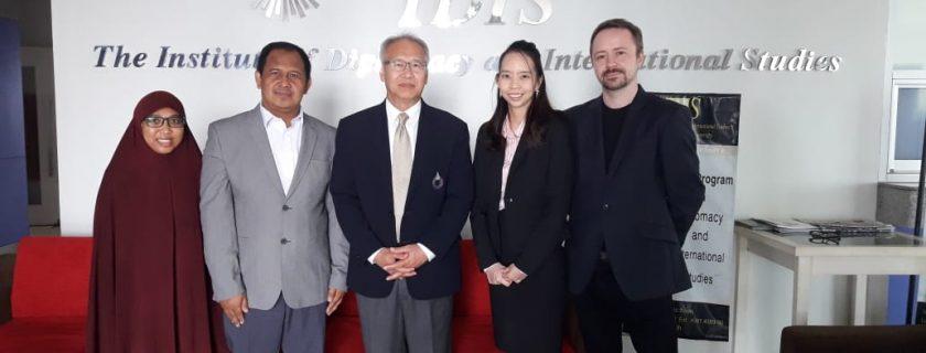 FISIP Universitas Budi Luhur Gandeng Rangsit University Menyepakati Skema Program Pertukaran Pelajar