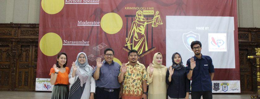 Prodi Kriminologi Adakan Kegiatan Criminology Fair