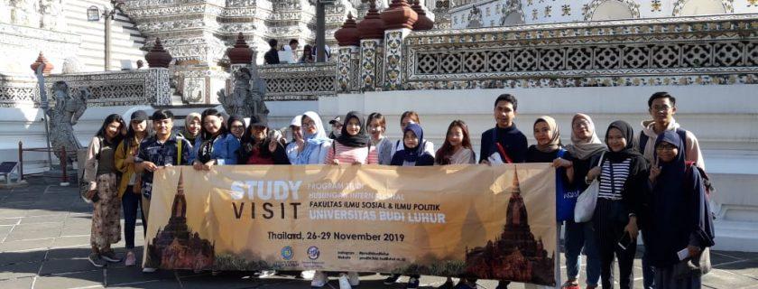 Prodi Hubungan Internasional FISIP UBL Adakan Kembali Studi Ekskursi ke Luar Negeri