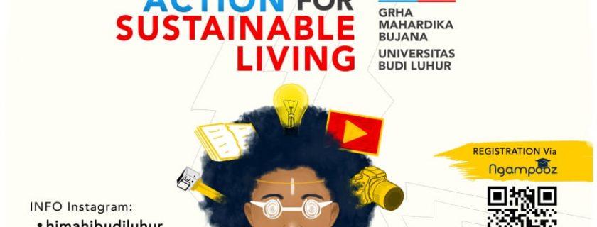 "HIMAHI Universitas Budi Luhur Adakan National Vlog Competition ""Millennial Action for Sustainable Living"""