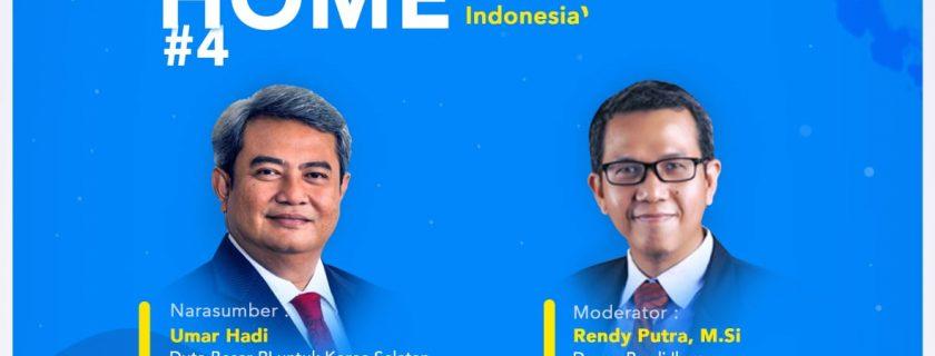 Kegiatan Diskusi Online oleh Prodi HI FISIP UBL dengan Duta Besar RI untuk Korea Selatan (Korsel)