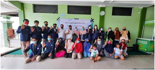 Mahasiswa FISIP UBL Melaksanakan KKN sebagai Upaya Pencegehan Penyebaran COVID-19 melalui Nilai-Nilai Kebudiluhuran