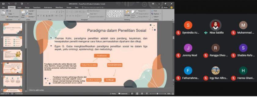 Laboratorium Hubungan Internasional FISIP Universitas Budi Luhur Adakan Tutorial Metode Penelitian Sosial