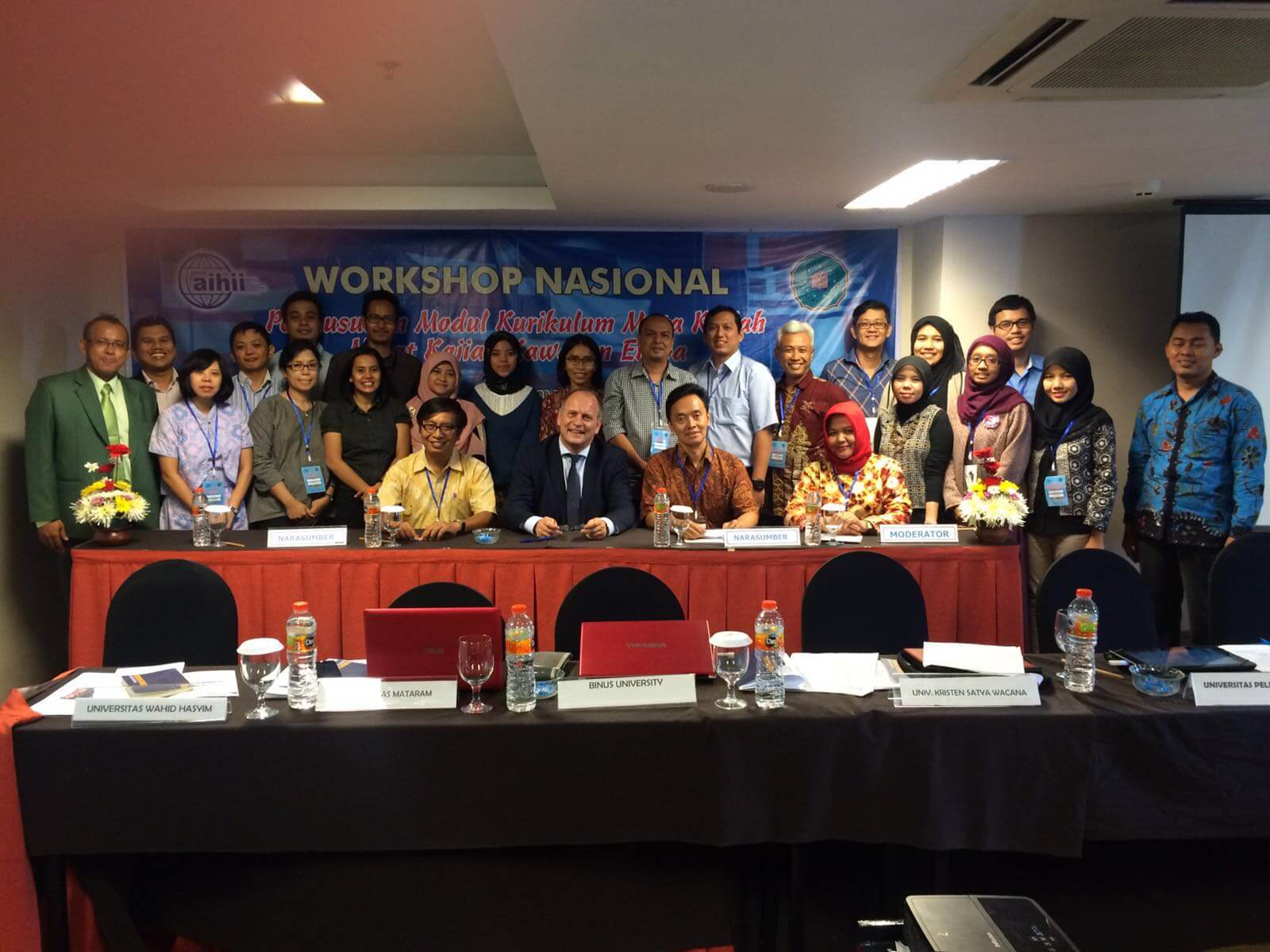 Keterlibatan Dosen UBL pada Workshop European Studies 2016