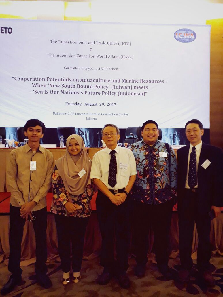 [:en]Dosen dan mahasiswa HI, FISIP mengikuti seminar dari Indonesian Council on World Affairs (ICWA) bekerjasama dengan Taipe Economic and Trade (TETO)[:]