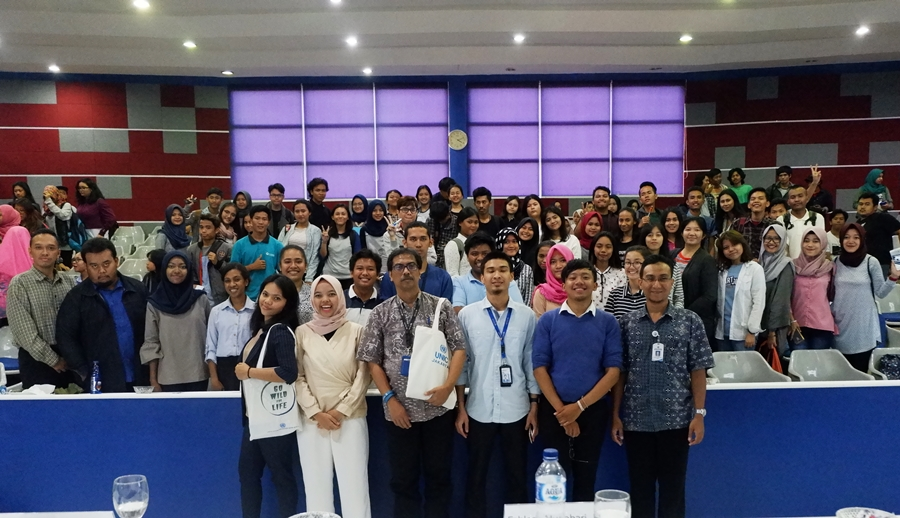 "Seminar ""Lecture on Promoting Sustainable Development Goals"" oleh UNIC, Jakarta dan 2030 Youth Force Indonesia"